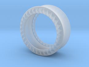 VORTEX9-25mm in Smooth Fine Detail Plastic