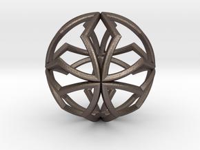 Sphere Pendant Z1 25mm in Stainless Steel