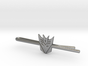 Transformers: Decepticons Tie Clip in Natural Silver