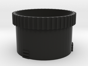 Diy M43 Lens V20 For Shapeways -- Focus Ring in Black Natural Versatile Plastic