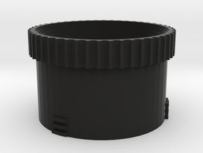 Diy M43 Lens V20 For Shapeways -- Focus Ring in Black Natural Versatile Plastic