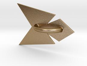 Phoenix Belt Sash in Polished Gold Steel