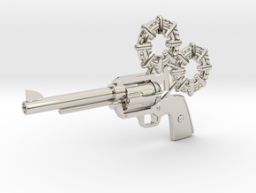Revolver in Platinum