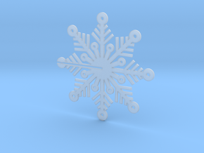 Snow Flake Flat, order two and they become 3D in Smooth Fine Detail Plastic