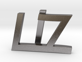 Liz in Polished Nickel Steel