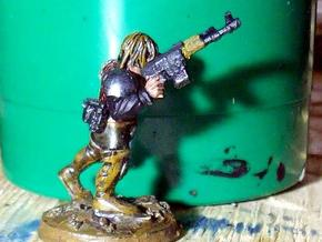 28mm AK laser rifles (40) in Frosted Ultra Detail