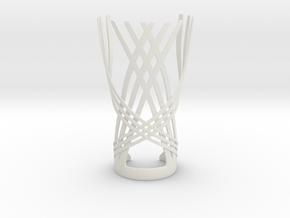 The Crossover (Bracer) in White Natural Versatile Plastic