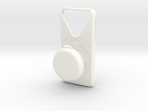 iPhone6 ear case zero in White Processed Versatile Plastic