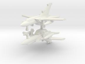 1/285 Panavia Tornado (x2) in White Natural Versatile Plastic