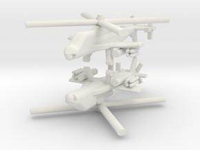 1/285 Lockheed AH-56 Cheyenne (x2) in White Natural Versatile Plastic