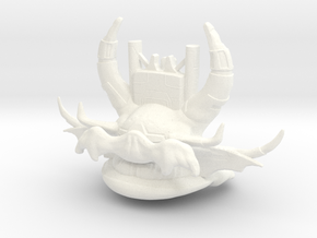 Gold Skeletorfixed  in White Processed Versatile Plastic