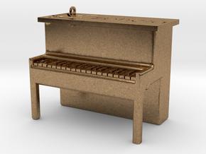 Piano Pendant in Natural Brass