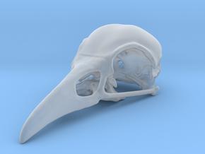 Bird Skull Pendant/Bead in Smooth Fine Detail Plastic