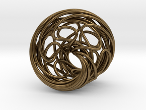 Mobius 6 in Natural Bronze