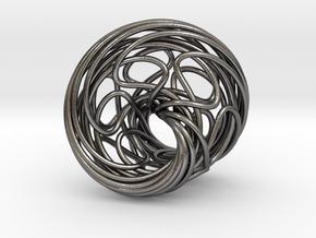 Mobius 6 in Polished Nickel Steel