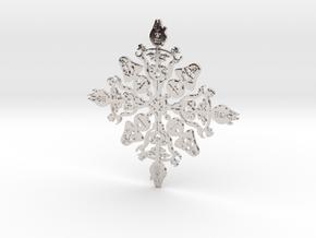 Star Wars Snowflake #1 in Platinum