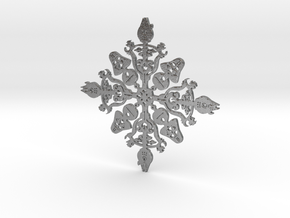 Star Wars Snowflake #1 in Natural Silver