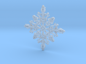 Star Wars Snowflake #1 in Smooth Fine Detail Plastic