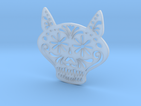 Gato Miron in Smooth Fine Detail Plastic
