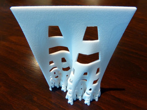 Developing terdragon curve in White Natural Versatile Plastic
