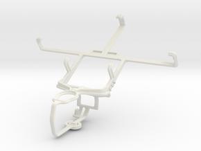Controller mount for PS3 & Xiaomi Hongmi in White Natural Versatile Plastic