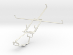 Controller mount for Xbox One & Yezz Epic T7 in White Natural Versatile Plastic