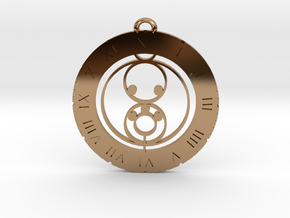 Luka - Pendant in Polished Brass