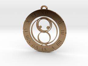 Jack - Pendant in Natural Brass