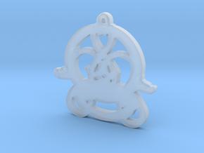 Swans Book of Kells Design V2 in Smooth Fine Detail Plastic