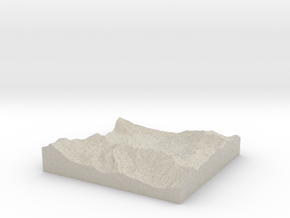 Model of Albion Basin in Sandstone