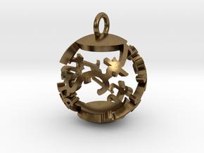 Babaylan Artifact Pendant in Natural Bronze