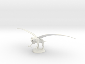 Griffin in White Natural Versatile Plastic