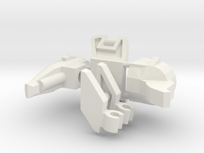 Pterodactybot (no vest) in White Natural Versatile Plastic