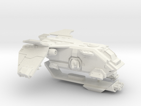 6mm Fireturkey Gunship in White Natural Versatile Plastic