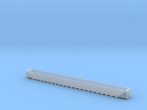 Twenty One Bay Rapid Discharge Hopper - Zscale in Smooth Fine Detail Plastic