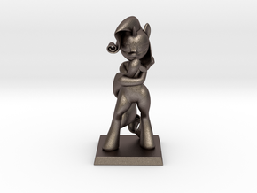 My Little Pony - Fabulous Rarity 14cm in Polished Bronzed Silver Steel