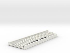 R-9-curve-bridge-track-extra-long-2a in White Natural Versatile Plastic