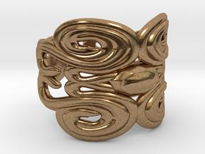 R-V01.7 in Natural Brass