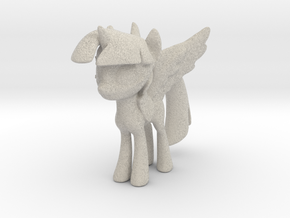Little Pony With Wings  in Natural Sandstone