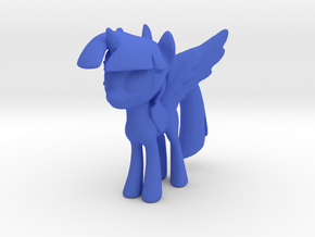 Little Pony With Wings  in Blue Strong & Flexible Polished