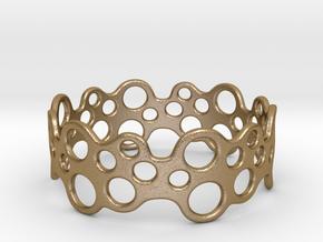 Bubbles Bracelet 70 in Polished Gold Steel