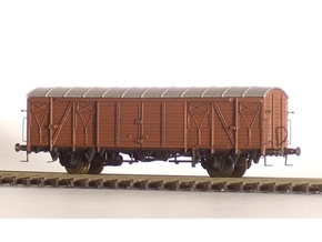 2251 1/148 German train-ferry van E006 in Smooth Fine Detail Plastic