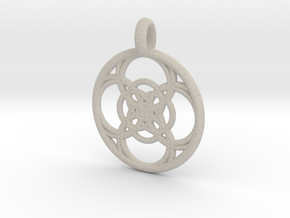 Chaldene pendant in Natural Sandstone