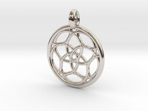 Himalia pendant in Platinum
