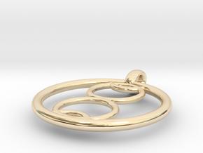 Kalyke pendant in 14K Yellow Gold