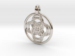 Thebe pendant in Platinum