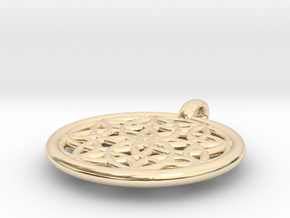 Metis pendant in 14K Yellow Gold