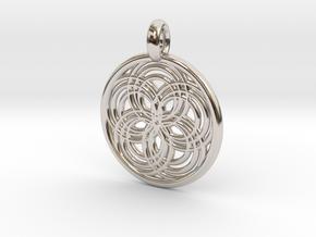 Carpo pendant in Platinum