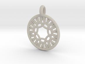 Herse pendant in Natural Sandstone