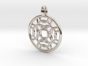 Erinome pendant in Platinum